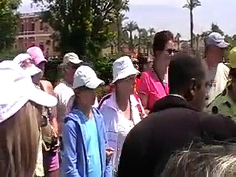 Египет, Луксор, экскурсия. Видео туристов
