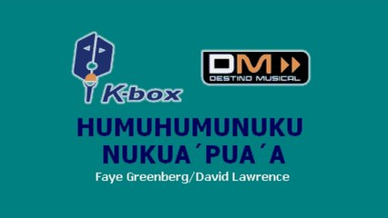 Karaoke Box - Humuhumunukunukuapua'a (In The Style Of / Al Estilo De : High School Musical)