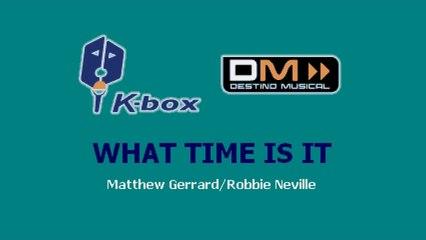 Karaoke Box - What Time Is It (In The Style Of / Al Estilo De : High School Musical) - (Karaoke)
