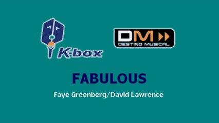 Karaoke Box - Fabulous (In The Style Of / Al Estilo De : High School Musical) - (Karaoke)