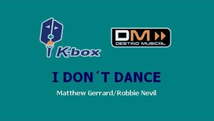 Karaoke Box - I Don't Dance (In The Style Of / Al Estilo De : High School Musical) - (Karaoke)