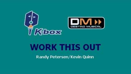 Karaoke Box - Work This Out (In The Style Of / Al Estilo De : High School Musical) - (Karaoke)