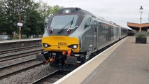 Chiltern Railways 68010 1R37 London Marylebone to Birmingham Moor Street departure