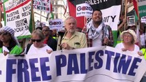 Jeremy Corbyn speaks about the injustice in Palestine