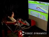 SNES Super Mario Kart on the Force Dynamics 301