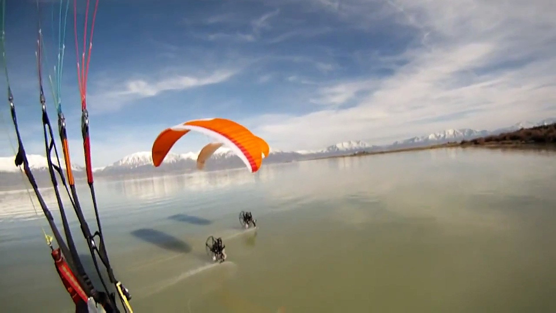 Paramotor Team Flat Top Aircraft Lands On Water!!! Powered Paragliding For  Sale Call 800-707-2525