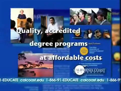 """Online Degrees"" California Coast University  866-91-EDUCATE ""Online Degrees"""