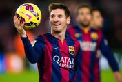 LIONEL MESSI Skills Dribblings Runs Goals and Passes 2015