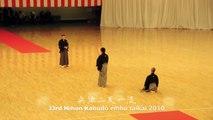 33rd Nihon Kobudo embu taikai, 2010 - Hyoho Niten Ichi ryu