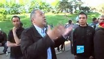 EXIGENCES DE CLANDESTINS TUNISIENS A PARIS