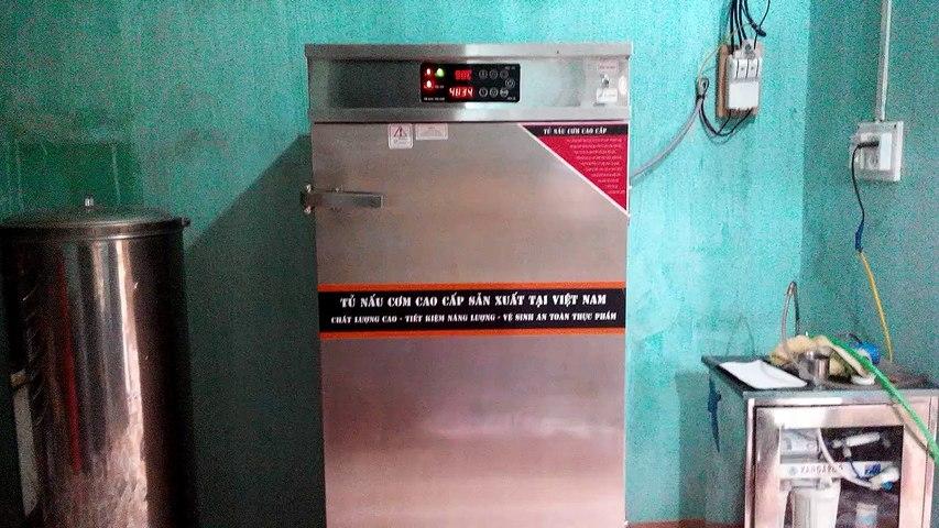 Tủ nấu cơm điện tử 12 khay hiện đại nhất hiện nay | Godialy.com