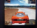 Ferrari F40 LM GTE at Baggersee Racing Circuit (GTR2)