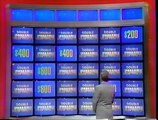 Bernard on Jeopardy - Broadcast May 29 1992 - Double Jeopardy