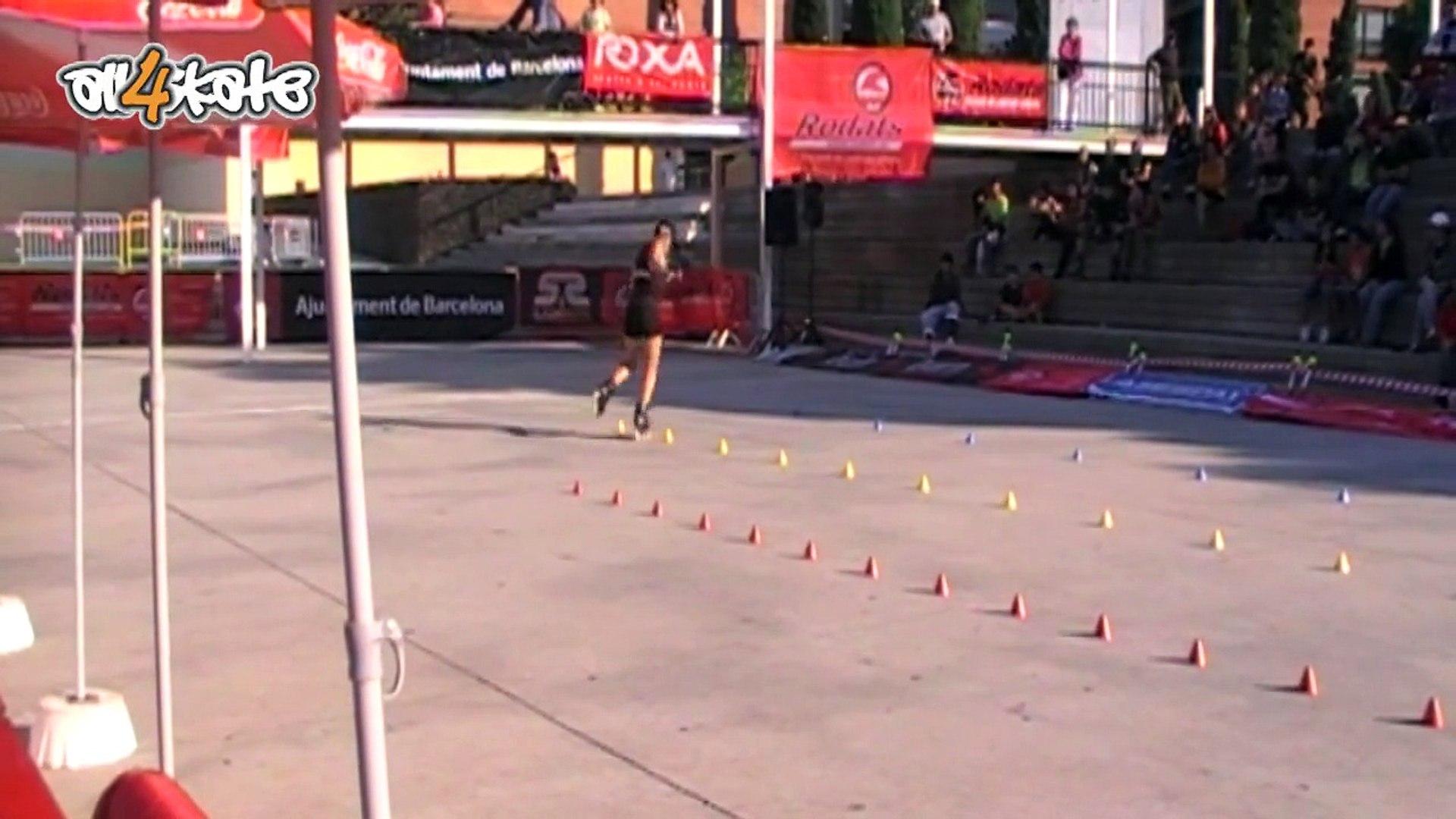 IFSA - Barcelona 2009 - Lejeune Caroline - Freestyle slalom Woman
