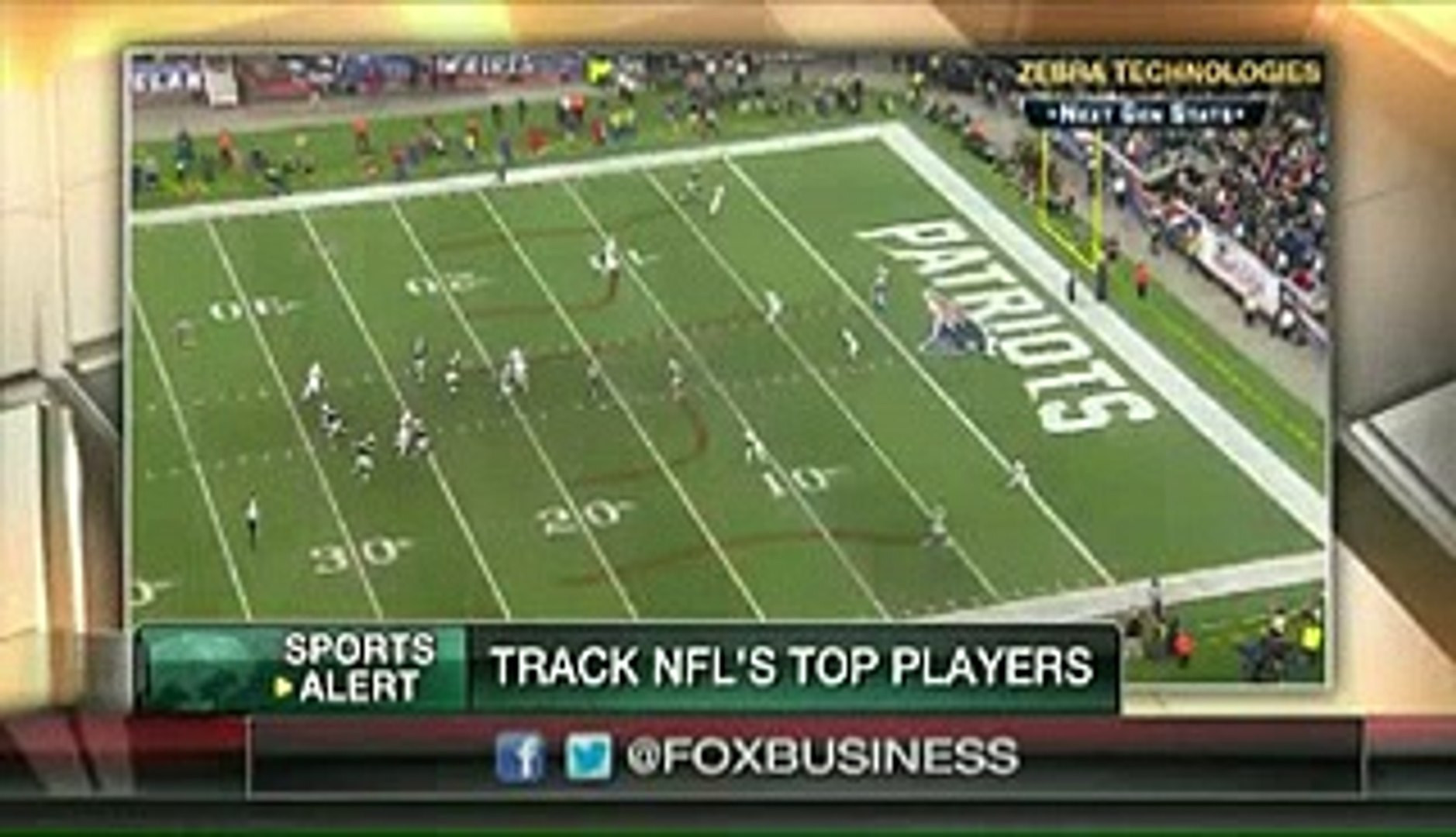 Tracking your favorite NFL players on the field - FoxTV Business News