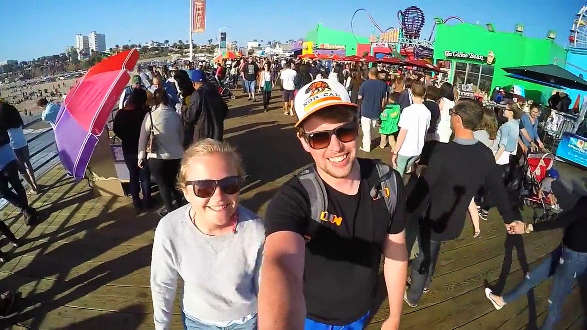 USA California Road Trip 2015 - GoPro Hero 4 Black - Full