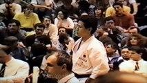 JKA 1990 England 3rd World Shotokan Cup Men Kata Final  Hashiguchi (JPN)
