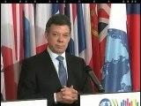 'Queremos entrar a la Ocde porque es el club de las buenas prácticas': Presidente Santos