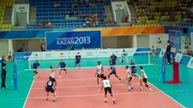 Springfield College Men's Volleyball Opens World University Games Against Estonia