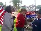 Dana Point Day Labor Site Protest ( Illegal Immigration / San Juan Capistrano ), Clip i