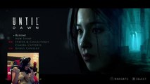*SPOILERS* UNTIL DAWN JUMP SCARE!!!!!! Streaming on Twitch
