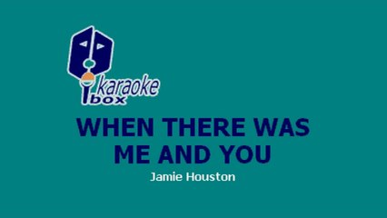 Karaoke Box - When There Was Me And You (In The Style Of / Al Estilo De : High School Musical)