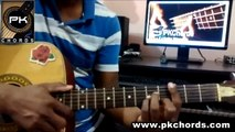Baaton Ko Teri-Arijit Singh-All is well-Guitar Chords Lesson-PKChords