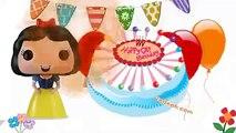 Happy Birthday Song Snow White Princess   Baby Songs   Kids Songs   Nursery Rhymes for Children   Yo