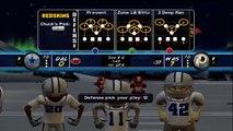 Backyard Football '10 (Xbox 360) HD Gameplay: Washington Redskins vs. Dallas Cowboys (First Quarter)