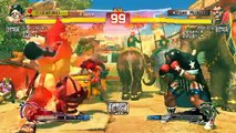 Ultra Street Fighter IV battle: Silver_Rocks (Hugo) vs AlbelRog (Balrog)