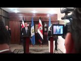 PRESIDENTES DE GUATEMALA Y COSTA RICA DESECHAN IDEA DE LEGALIZAR DROGAS, CHINCHILLA DICE QUE LE EXTRAÑA POSICIÓN DE EX PRESIDENTES