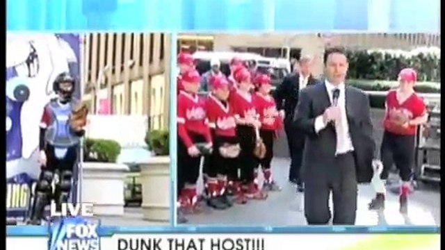 Dunked! Young Pitching Sensation Dunks Brian Kilmeade!