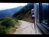 In bus for the highways difficult of Ecuador