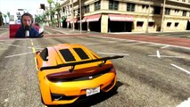 GTA 5 Funny Moments   Drifting With Sport Cars   GTA V Online Games Stunts