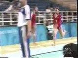 2004 Athens Olympics - Womens Gymnastics (Annia Hatch & Mohini Bhardwaj)