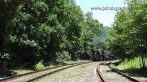 Parní nákladní vlak Nučice - Lužná u Rakovníka