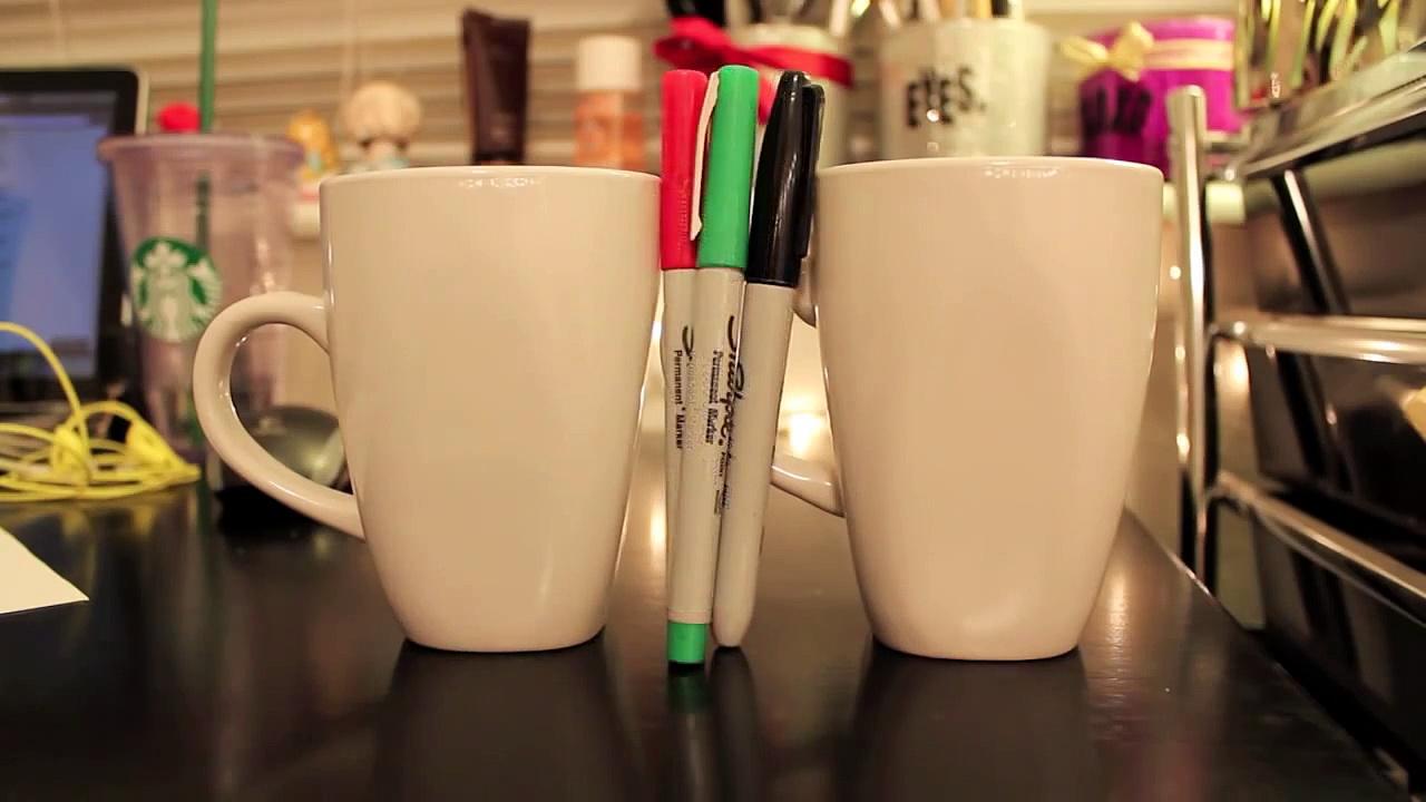 DIY Personalized mug + Holiday Gift Idea – C2C Day 6