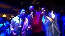 Prestation du Président Michel J. Martelly au bal d'anniversaire de T-Vice à Club Indigo .