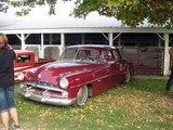 GASSERS HOT RAT RODS KUSTOM CAR  SHOW  LOW RIDERS HUNNERT CAR PILE UP  OLD SCHOOL