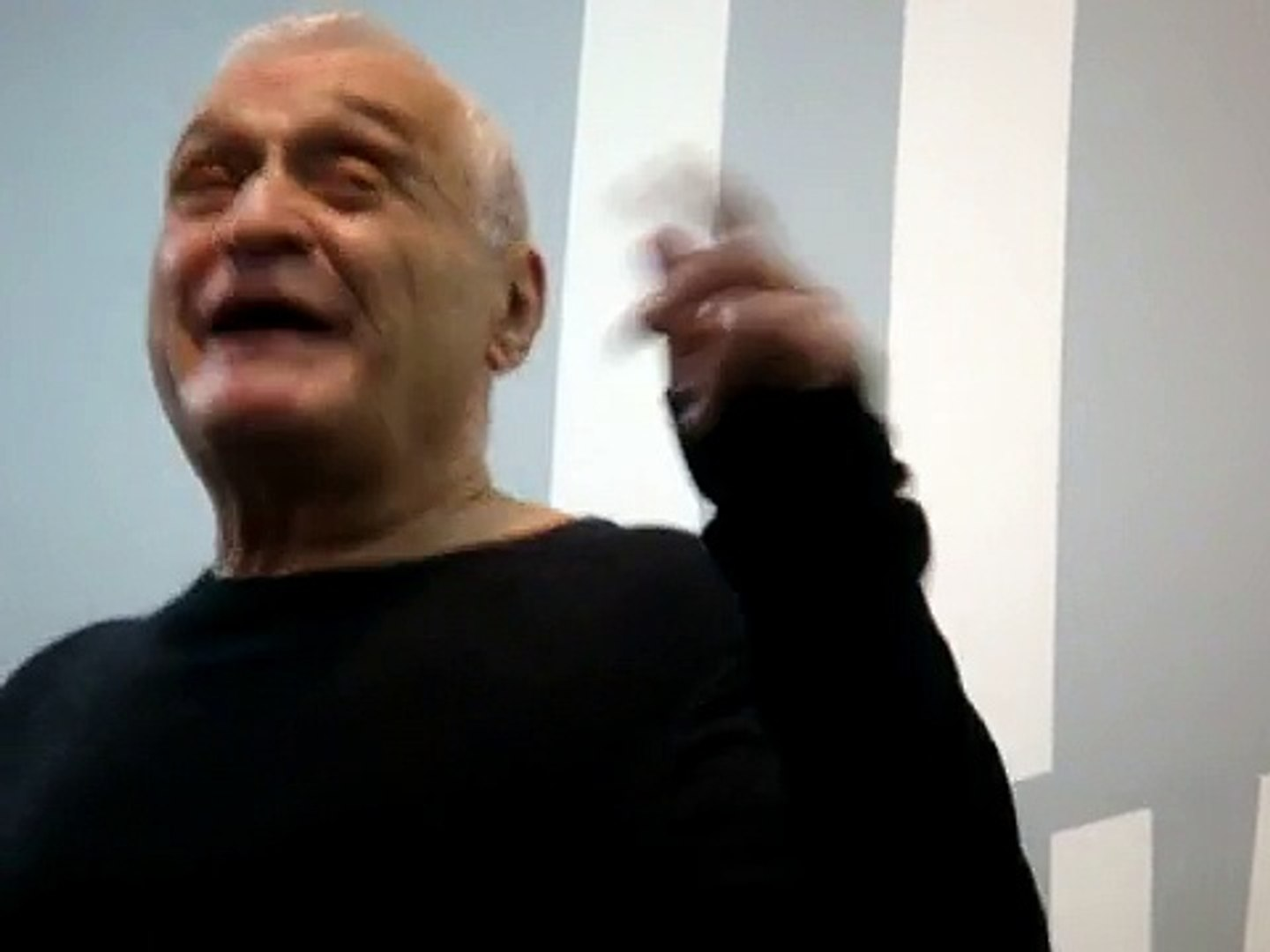 John Giorno PERFORMANCE ( the last poem) THANKS FOR NOTHING