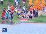 Shaolin monk runs atop water for 125 meters, sets new record