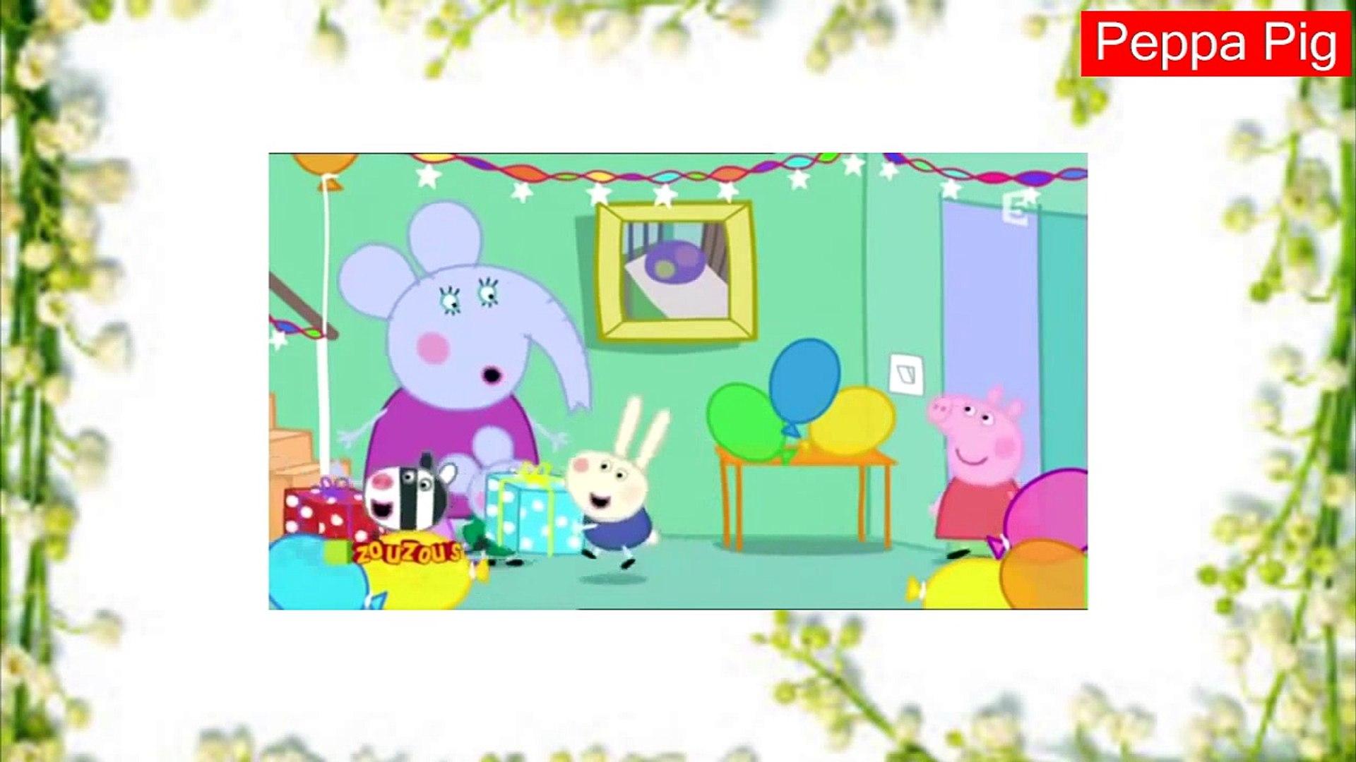 Peppa Pig Anime 2014 L Anniversaire D Edmond éléphant Mp4