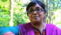 Storyteller Jeeva Raghunath at the Powellswood Storytelling Festival 2013