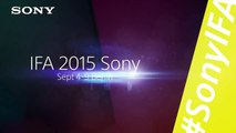 IFA 2015: Touring the Sony booth with Action Cam Mini