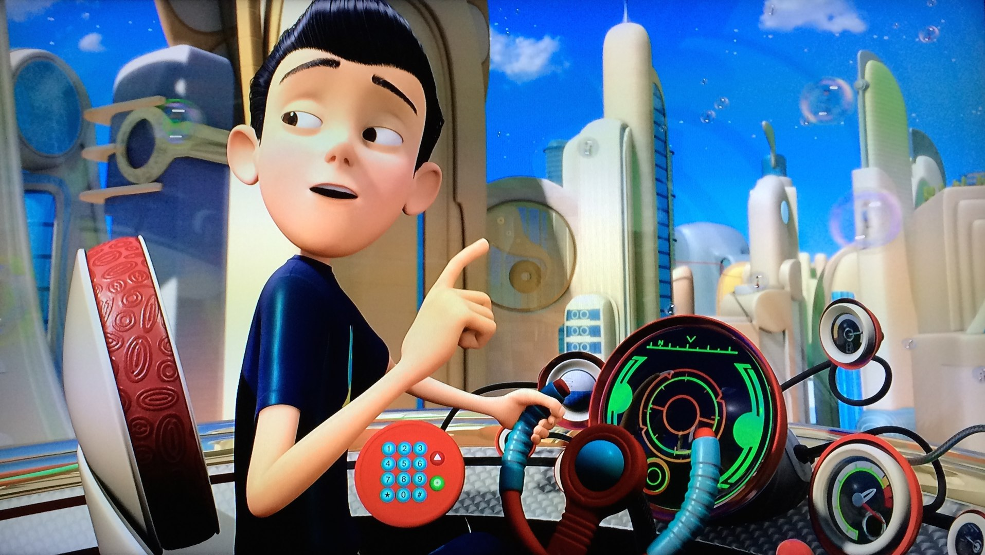 Animation Movies 2017 Full Animation Movies - Meet the Robinsons Part 1