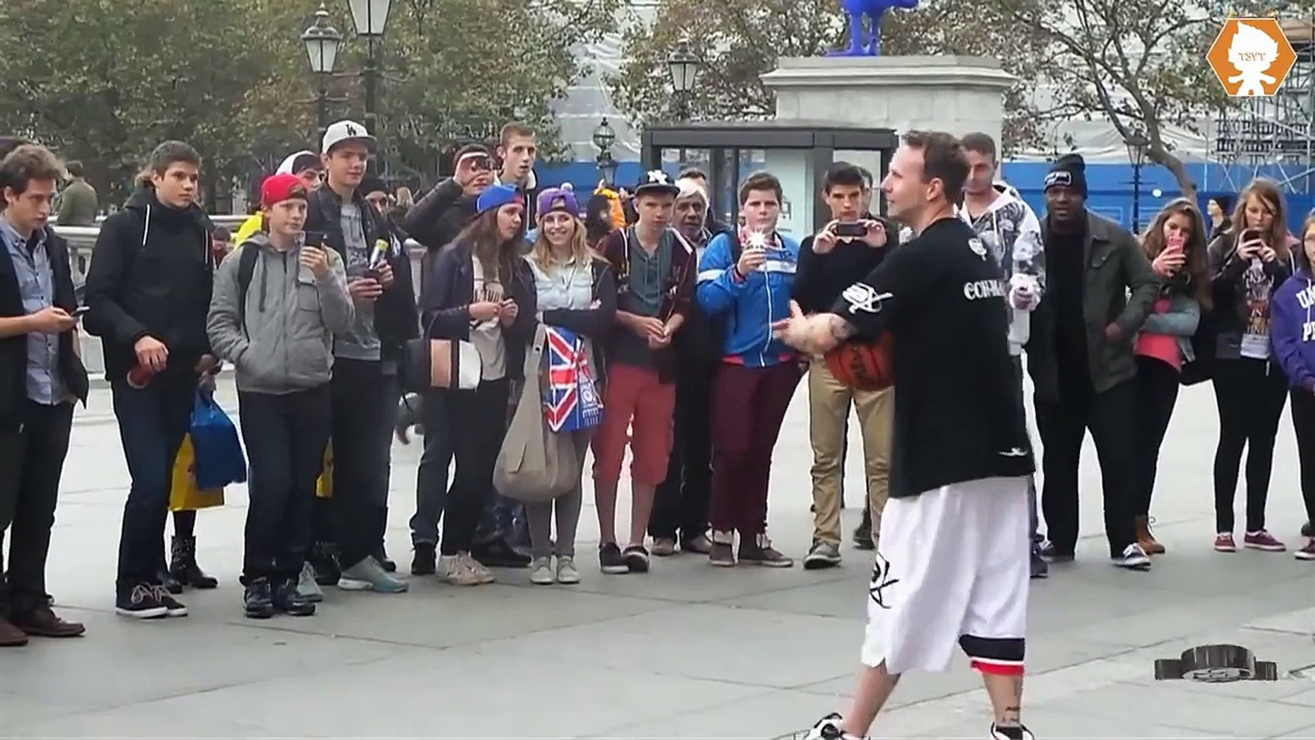 REAL OR FAKE?? ANGRY MAN BOTTLES BASKETBALL STAR AFTER EMBARRASSING HIM!!!!! | Tom