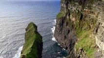 Travel Guide Wild Atlantic Way, Ireland -Ireland's Wild Atlantic Way   Cliffs of Moher in Co. Clare.