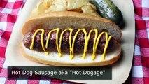 Hot Dog Sausage aka  Hot Dogage    How to Make Fresh Hot Dog Spiced Sausage