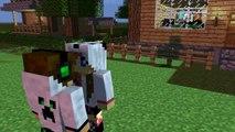 Minecraft Animation- Giantess Growth(test 1.7)