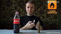 Cola-Rakete mit Propangas: Nichts für schwache Nerven